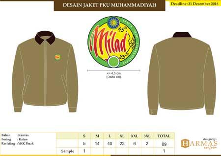 jaket kantor muhammadiyah